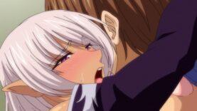 【エロアニメ】エルフの教え子と先生 下巻ダークエルフの甘美な誘惑