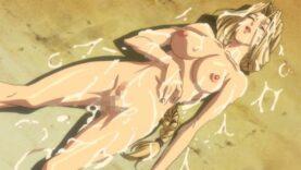 【エロアニメ】みんなに見られて感じる露出狂戦乙女!民に犯され、全身白濁に染まるヴァルキリー ep3