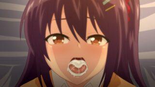 【エロアニメ】「私の口マンコで気持ち良くなってくれて・・すごくうれしい!」おじさんに褒められて喜んで「精子ごっくん♡」するビッチ優等生 ep2
