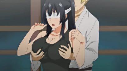 【エロアニメ】 合気道の先輩「そこは..ダメだ」・・・鍛錬ですから!男性恐怖症を克服するために身体に触れまくる後輩